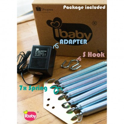 IBaby-POLO BABY Electronic Baby Cradle Music/Timer/Controll RM159 Buain Baby Buai Bayi Elektrik