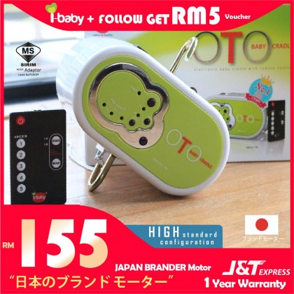 [Limited Offer!!!]I-BABY OTO Electronic Baby Cradle BUAIAN BABY