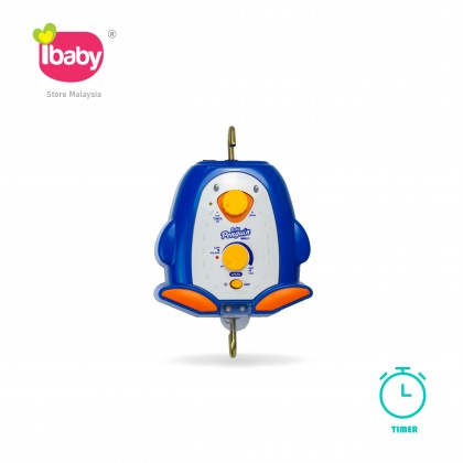 I-Baby Penguin Timer Electronic Baby Cradle Penguin Timer Buaian Baby Buai Bayi Elektrik