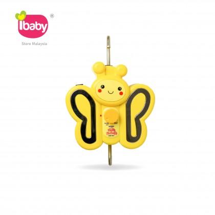 I-BABY Butterfly Electronic Baby Cradle Butterfly Buaian Baby Buai Bayi Elektrik